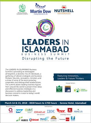 Leaders in Islamabad 2018
